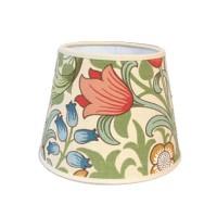 Lampskärm Rund 20 William Morris - Golden Lily Creme