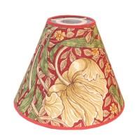 Lampskärm William Morris - Pimpernel Röd Toppring