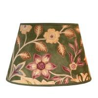 Lampskärm William Morris - Wilhelmina Grön Oval 25