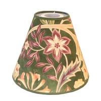 Lampskärm William Morris - Wilhelmina Grön Toppring