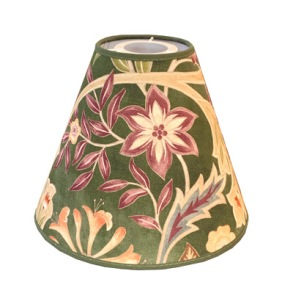 Lampskärm William Morris - Wilhelmina Grön Toppring - Lampskärm William Morris - Wilhelmina Grön Toppring