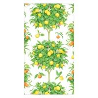 Pappersservett Caspari - Citronträd