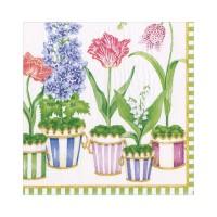 Pappersservett Caspari - Window Garden