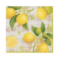 Pappersservett Caspari - Lemon