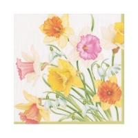 Pappersservett Caspari - Daffodil