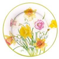 Papperstallrik - Caspari Daffodil
