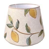 Lampskärm William Morris - Lemon Tree Rund 32