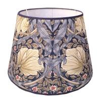 Lampskärm William Morris - Pimpernel Blå Rund 32