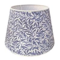 Lampskärm William Morris - Willow Bough Minor Blå Rund 32