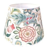 Lampskärm William Morris - Wilhelmina Vit Rund 32