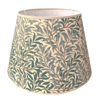 Lampskärm William Morris - Willow Bough Minor Grön Rund 32