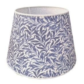 Lampskärm William Morris - Willow Bough Minor Blå Rund 32 - Lampskärm William Morris - Willow Bough Minor Blå Rund 32