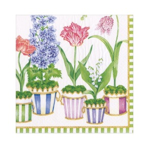 Pappersservett Caspari - Window Garden - Pappersservett Caspari - Window Garden Coctail