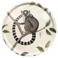 Rund bricka 46Sanderson - Lemur