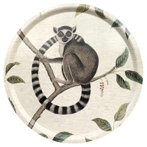 Rund bricka 46Sanderson - Lemur - Rund bricka 46Sanderson - Lemur