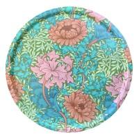 Rund 46 bricka William Morris - Chrysanthemum