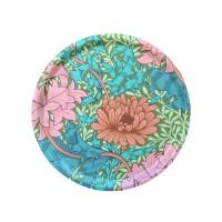 Rund 31 bricka William Morris - Chrysanthemum