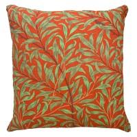 Kudde William Morris - Willow Bough Röd