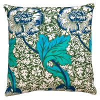 Kudde William Morris - Kennet Grön