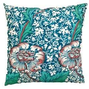 Kudde William Morris - Kennet Blå