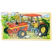 Pussel 24 bitar - traktor