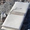Grova handdukar från Axlings - benvit & natur - Axlings grova handdukar - benvit 2-pack