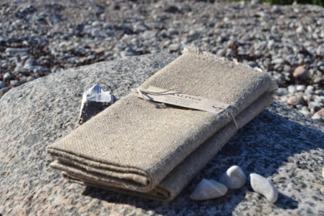 Grova handdukar från Axlings - benvit & natur - Axlings grova handdukar - natur 2-pack