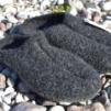 Toffel Ulle Mohair mörkgrå