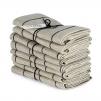 Handduk Marulk från Axlings - Axlings handduk malurk - svart/natur