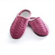 Ulle Seamless Cabel Knit, Cerise