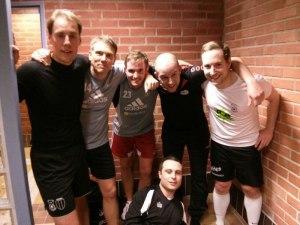 Playerlaget: Stoffe, Axel, Olof, Imme, Fidde & Dany (liggandes som vanligt).