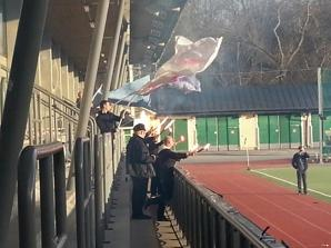 FC Krukan Ultras firar segern.