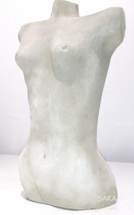 Skulptur i stengods 8kg, Sara