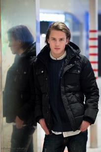 Emil Sjöström, Älvsjö, Kioskmedarbetare, 19 år