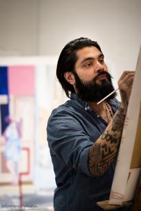 Dennis Stockholm, Vårby Gård, konstnär, 28 år