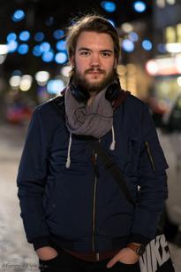 Albin Franzon, Örebro, Boendestöd, 20år