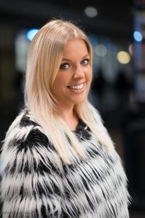 Anna Hansson, Gärdet, Visual Merchandiser, 28 år