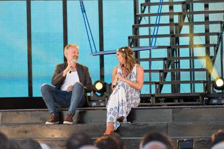 Björn Kjellman och Lisa Stadell