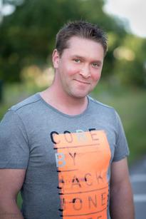 Daniel Johansson, Maråker, Lastbilschafför, 33 år