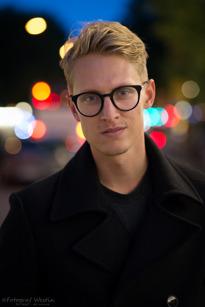 Robert Pettersson, Gärdet Stockholm, Web-designer, 26 år
