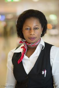 Sarah Tiltsche, Münich/München , Assistance check in /Incheckning, 43 Year,