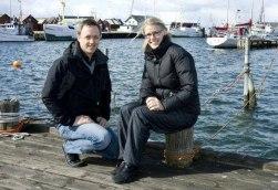 LÄMNAR ÖVER. Henrik Svahn lämnar nu över ordförandeklubban i föreningen Buas framtid till Victoria Wiman. I går kväll blev Buas Framtid utnämnda till Årets Utvecklingsgrupp av Hallands Länsbygderåd.