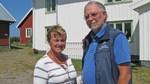 Ulf & Agneta har drivit vandrarhemmet i 13 år. Nu gör de sitt sista år. Foto Sara Hector Sveriges Radio