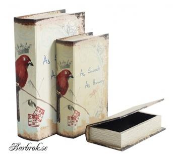 Ytterligare modell på book-box från Nordal, samma storlekar som den till vänster