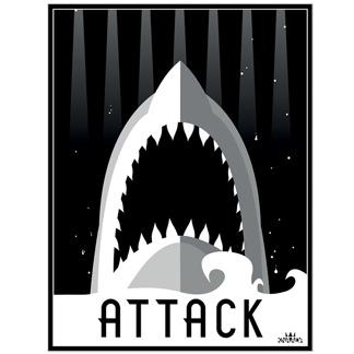 Attack - Attack (30,5x40 cm)