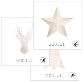 Julkort 6-pack - Vykort 2015 (6-pack)