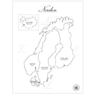 Norden - Norden (30x40 cm)