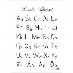 Alfabetet 50x70