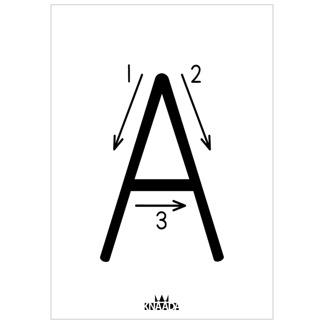 Bokstav (A-Ö) - Ark A