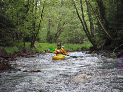 Hybrid paddling - å paddling med inslag av lätt fors.